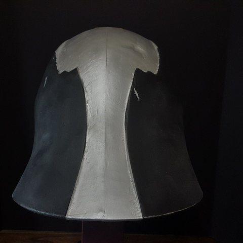 star killer helmet star wars makerslab 3d print3.jpg Download OBJ file Star Wars Starkiller helmet • 3D printer template, 3D-mon