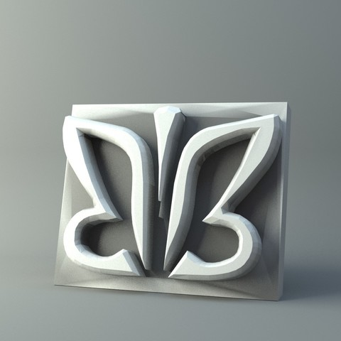 Impresiones 3D Serie de sellos de cuero modelo de impresión 3D, 3D-mon