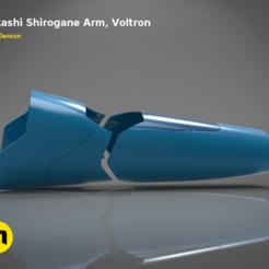 Descargar modelos 3D para imprimir El brazo de Takashi Shirogane de Voltron, 3D-mon