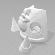 3D file Akamas Shoulder plate 3D print model, MakersLAB