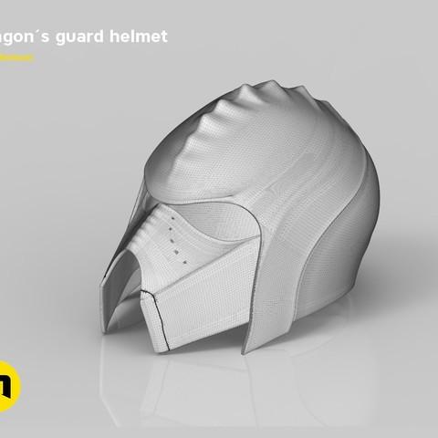 render_klingon_mesh.48.jpg Download STL file Klingon guard helmet • 3D printer object, 3D-mon