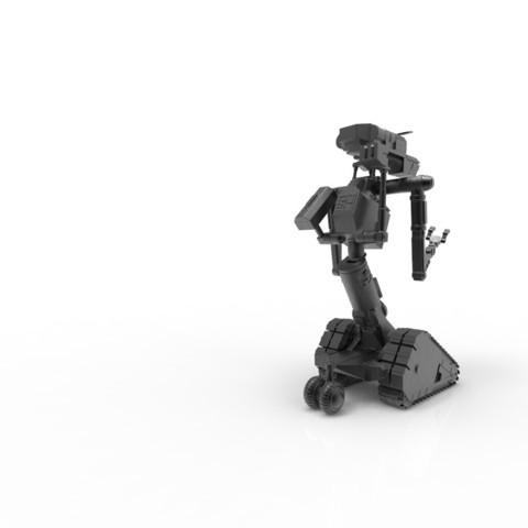 untitled.3.jpg Download STL file Johnny 5 - 3D print model • 3D printable template, 3D-mon