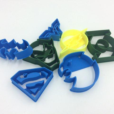 1.jpg Télécharger fichier STL Emporte-pièces DC super héros • Design imprimable en 3D, 3D-mon