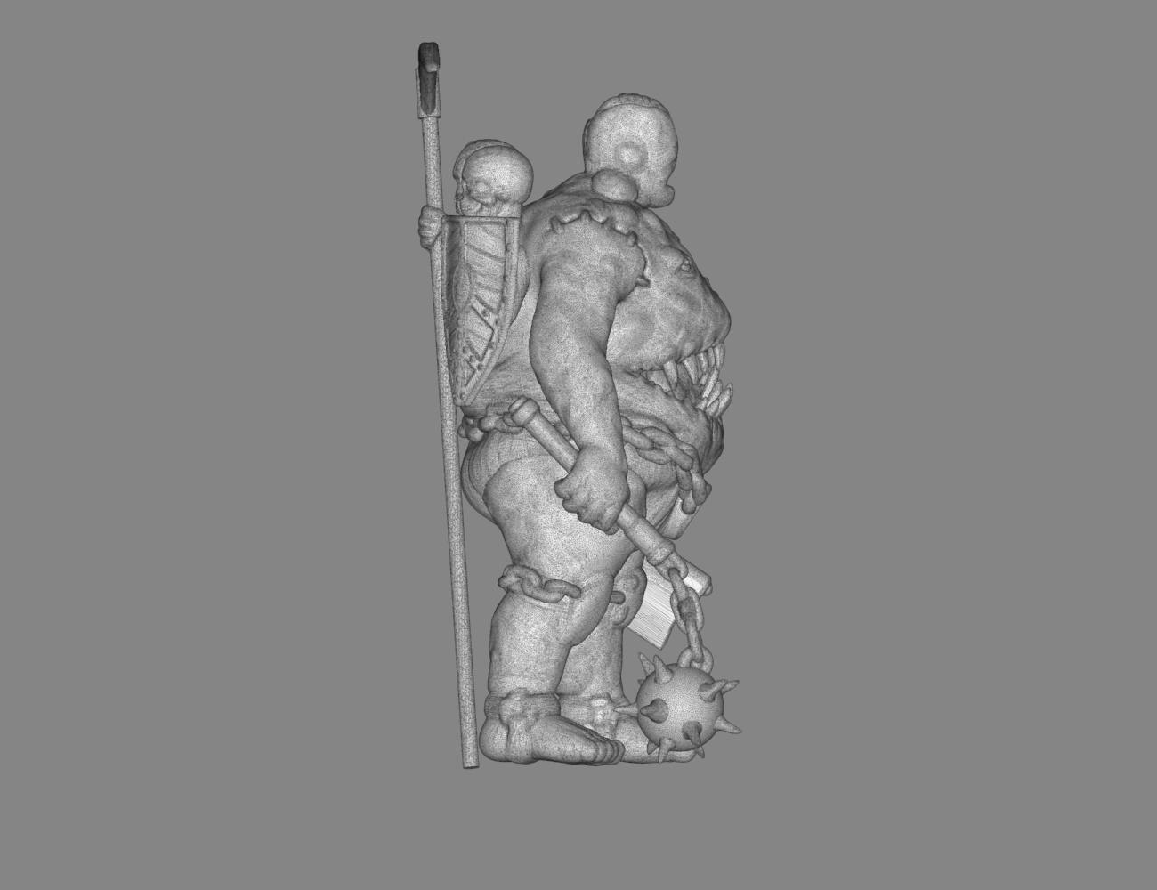 mesh_scene.4.png Download STL file Pirfes figure - 3D print model • Design to 3D print, 3D-mon