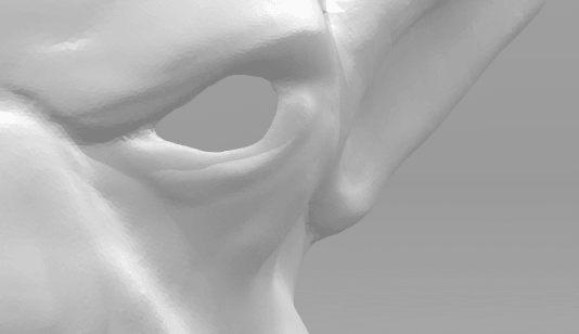 Screenshot_3.png Download STL file Mask of Akama's face from World of Warcraft • Model to 3D print, 3D-mon