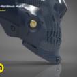 STL Die-Hardman mask from Death Stranding, 3D-mon