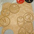 Download 3D printer templates Marvel Cookie Cutters set, 3D-mon