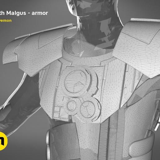 render_scene_darth-malgus-armor-mesh.20 kopie.jpg Download STL file Darth Malgus's full size armor • Design to 3D print, 3D-mon