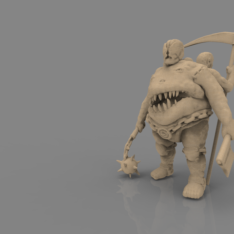 fatman_scene.png Download STL file Pirfes figure - 3D print model • Design to 3D print, 3D-mon