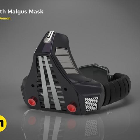 Descargar archivo 3D Máscara Darth Malgus - Star Wars, 3D-mon