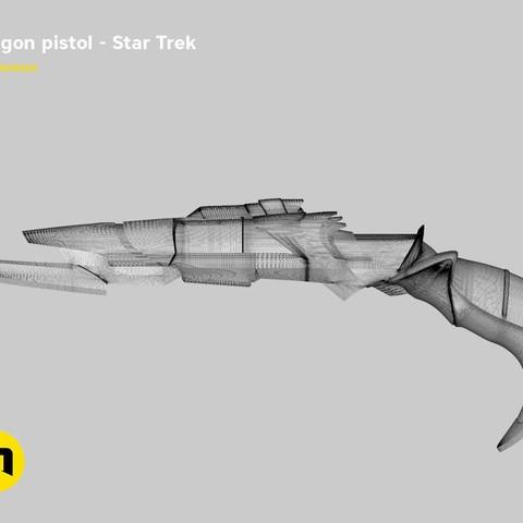 render_pistol_mesh.846.jpg Download STL file Klingon pistol – Star Trek • Template to 3D print, 3D-mon