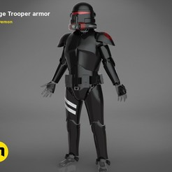 Download 3D printer designs Purge Trooper armor, 3D-mon