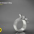 Descargar archivos STL gratis Anillo Greyjoy, 3D-mon