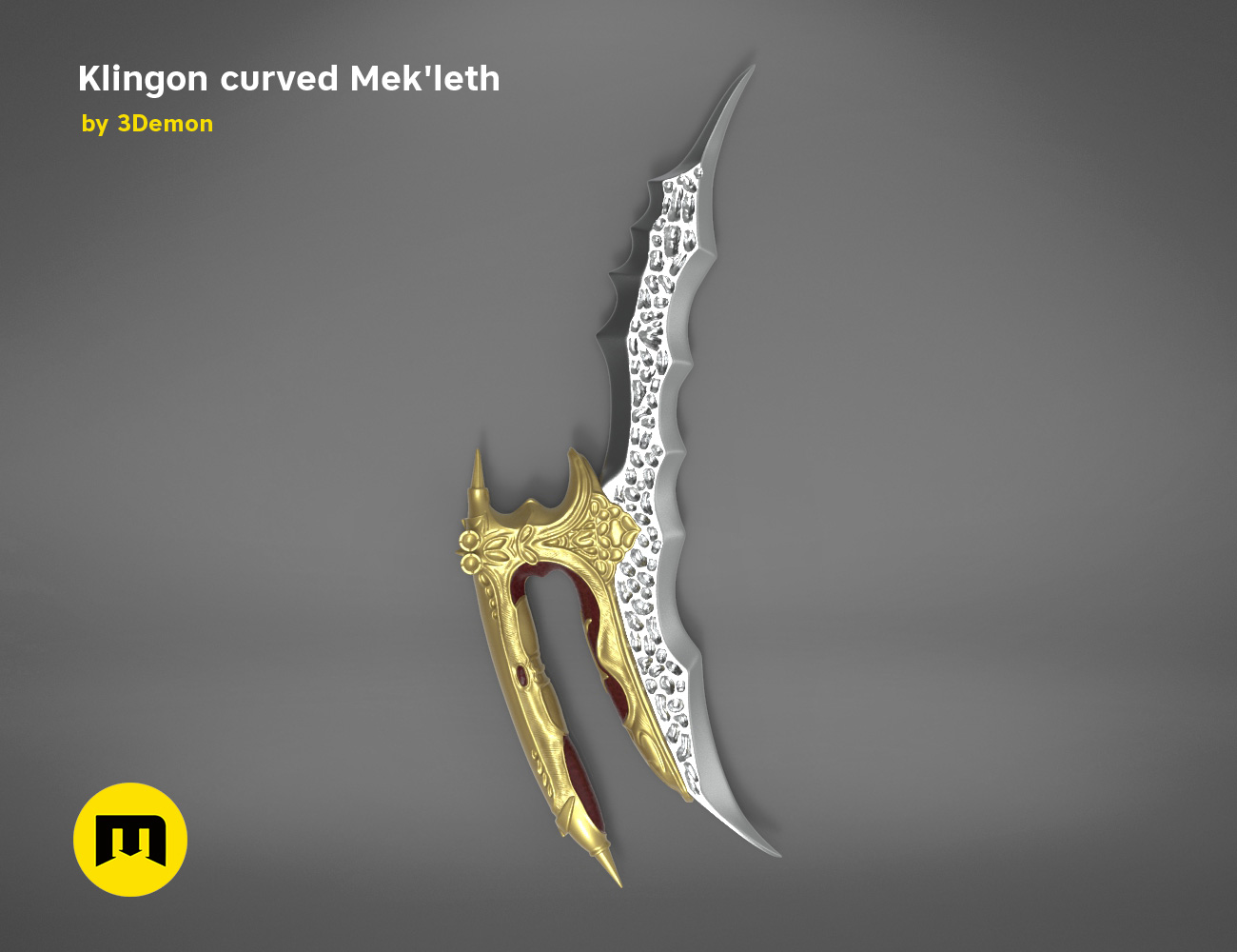 mekleth2-startrek-color.462.jpg Download OBJ file Klingon curved Mek'leth - Star Trek  • 3D printing object, 3D-mon