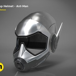 Download 3D printer files Wasp helmet, 3D-mon