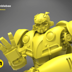 Download STL file Bumblebee bust, 3D-mon