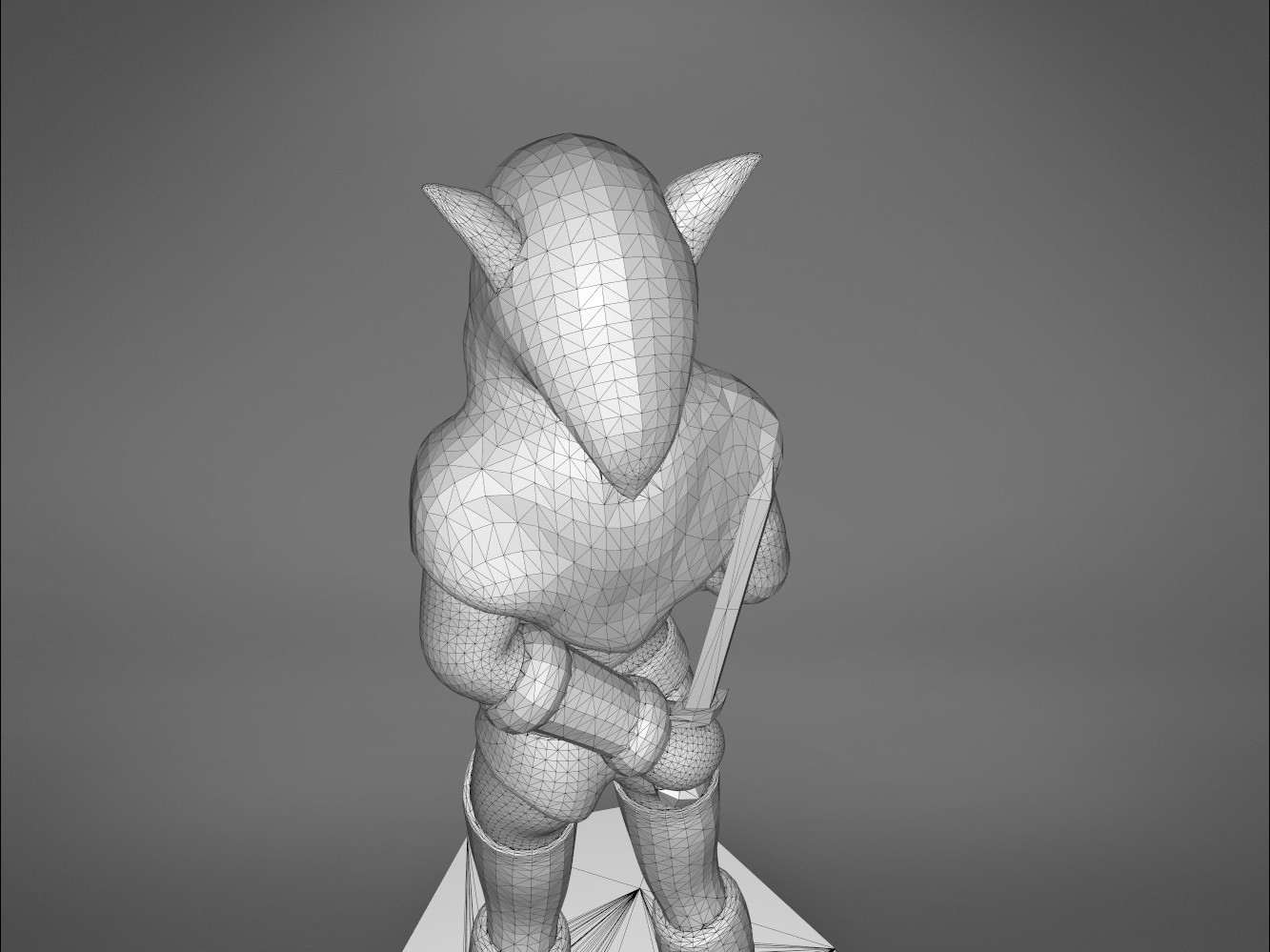 Rogue_2-detail_5.477.jpg Download STL file ELF ROGUE FEMALE CHARACTER GAME FIGURES 3D print model • 3D printer object, 3D-mon