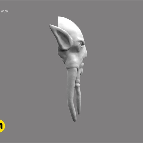 CGTrader_akama7.jpg Download STL file Mask of Akama's face from World of Warcraft • Model to 3D print, 3D-mon