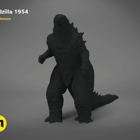 godzilla-black-japanese-main_render.193.png Télécharger fichier OBJ gratuit Godzilla 1954 figurine et ouvre-bouteille • Objet imprimable en 3D, 3D-mon