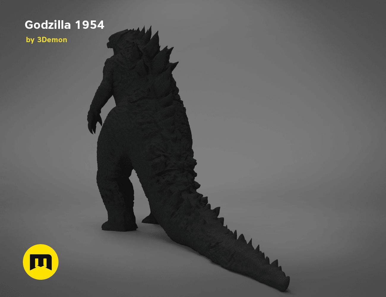 godzilla-black-japanese-main_render_2.194.png Download free OBJ file Godzilla 1954 figure and bottle opener • 3D printer model, 3D-mon