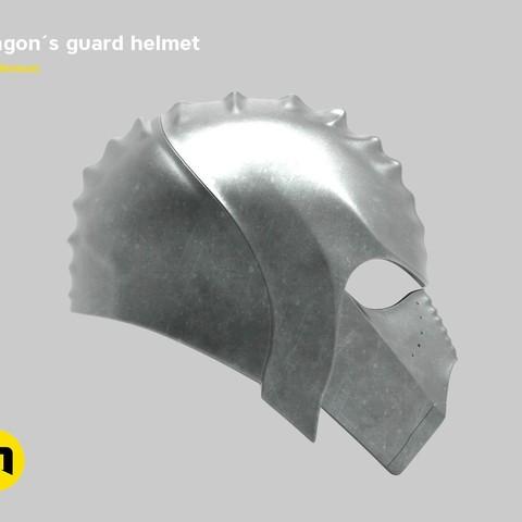render_klingon_color.53.jpg Download STL file Klingon guard helmet • 3D printer object, 3D-mon