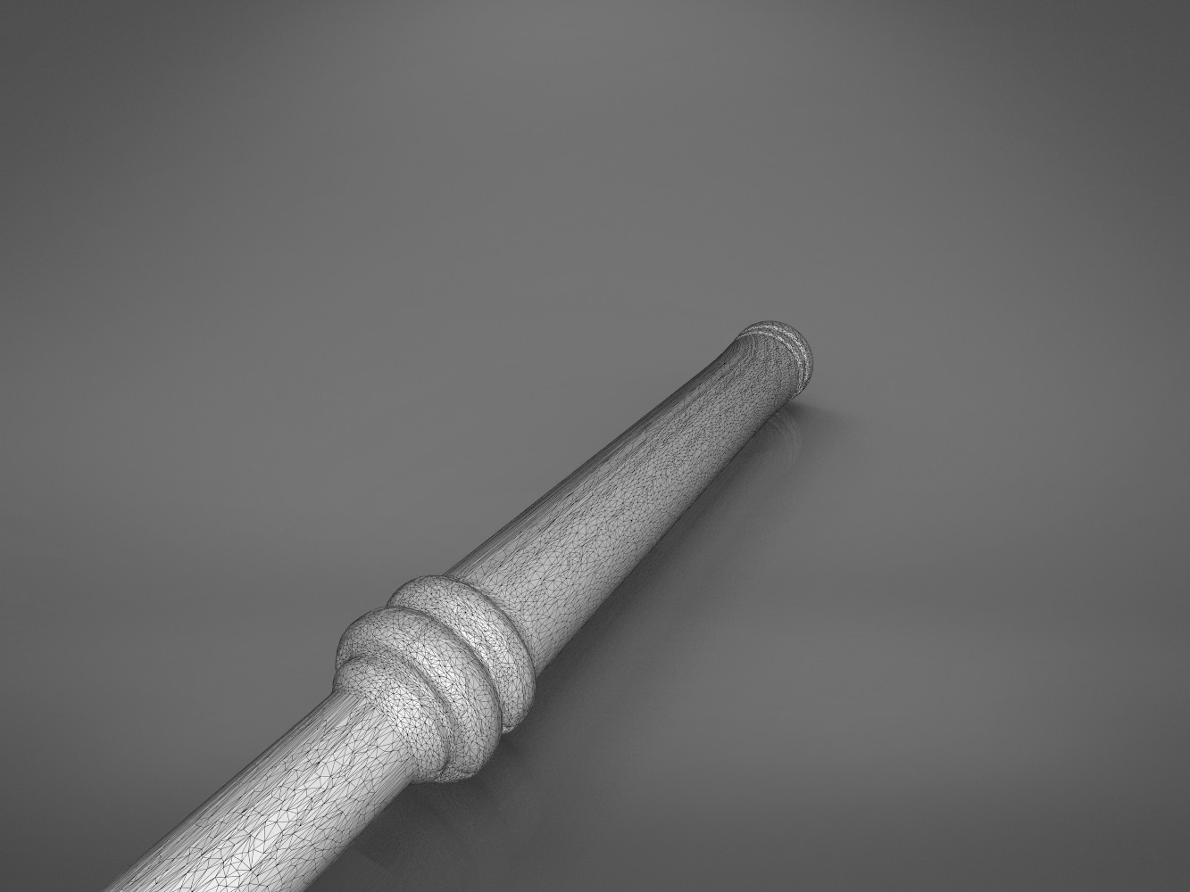 Bonus-detail_3.702.jpg Download STL file Ron Weasley broken wand - Harry Potter films 3D print model • 3D print design, 3D-mon