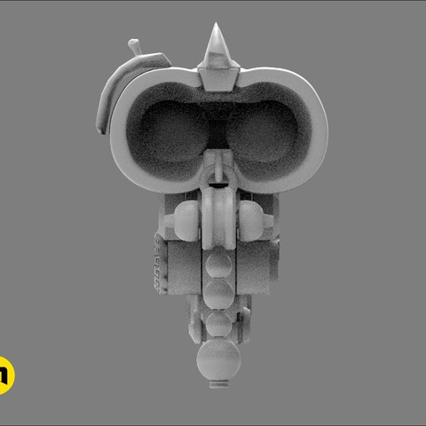 CGTrader_Roadhog_gun_bajie2.jpg Download STL file Overwatch Roadhog Gun Bajie • Model to 3D print, 3D-mon