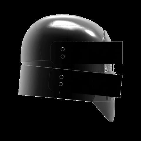 render_scene-left.123.png Download OBJ file Sniper - Knights of Ren Helmet mask, Star Wars 3D print model • 3D printable model, 3D-mon