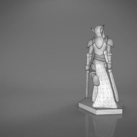Warrior_2-main_render_2.341.jpg Download STL file ELF WARRIOR FEMALE CHARACTER GAME FIGURE 3D print model • 3D printing object, 3D-mon