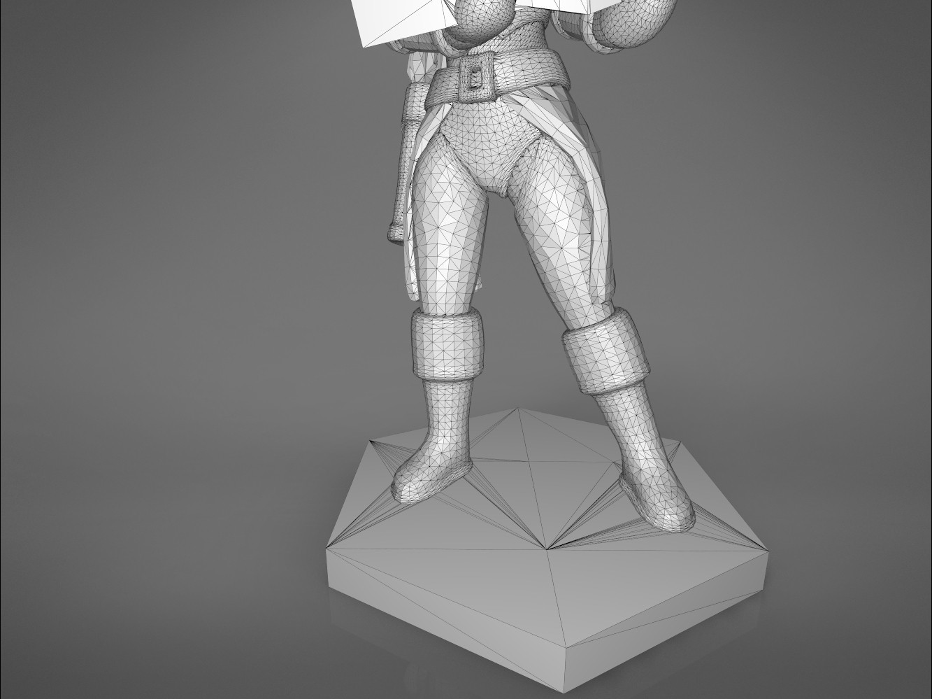 female_ranger-detail_2.544.jpg Download STL file ELF RANGER FEMALE CHARACTER GAME FIGURES 3D print model • 3D printing object, 3D-mon