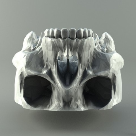 49c4809628ae1c3a375524d78c26decd_preview_featured.jpg Download free STL file Human Skull • 3D print model, 3D-mon