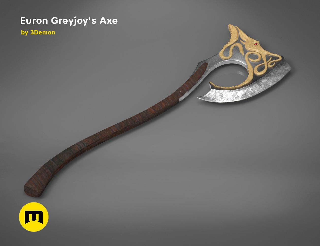 axe-gameofthrones-render.977.jpg Download OBJ file Euron Greyjoy's Axe • 3D printable object, 3D-mon