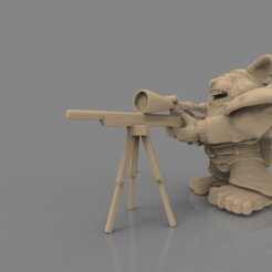 STL file Genk figure - 3D print model, 3D-mon