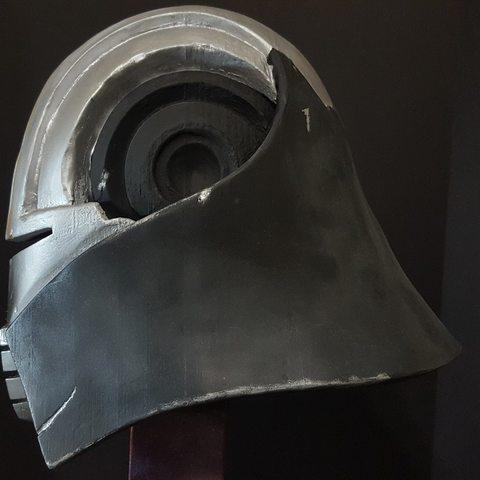 star killer helmet star wars makerslab 3d print4.jpg Download OBJ file Star Wars Starkiller helmet • 3D printer template, 3D-mon
