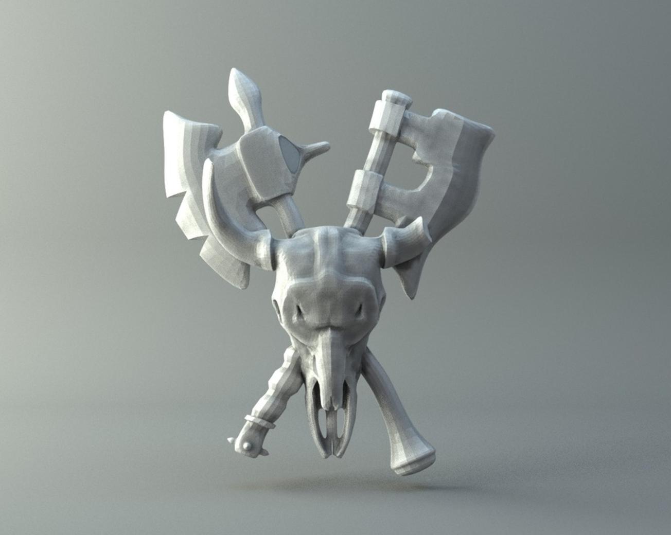 Capture d'écran 2016-11-15 à 07.10.00.png Télécharger fichier STL gratuit Amulette Warsong de World of Warcraft • Modèle imprimable en 3D, 3D-mon
