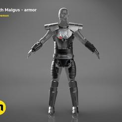 render_scene_darth-malgus-armor-color.10 kopie.jpg Télécharger fichier STL L'armure grandeur nature de Dark Malgus • Plan imprimable en 3D, 3D-mon