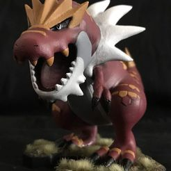photo.jpg Download OBJ file Tyrantrum Pokemon  • 3D print object, 3D-mon