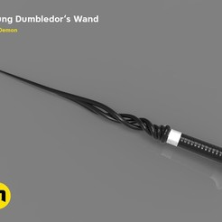 Download 3D printer designs Young Albus Dumbledore Final Movie- Wand, 3D-mon