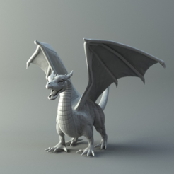 Free STL files Dragon, 3D-mon