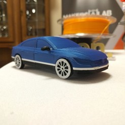 STL file Car model VW Arteon 3D print, 3D-mon