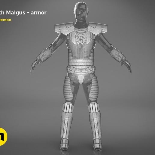 render_scene_darth-malgus-armor-mesh.18 kopie.jpg Download STL file Darth Malgus's full size armor • Design to 3D print, 3D-mon