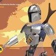 Download 3D printing files The Mandalorian  - full armor and weapons, 3D-mon