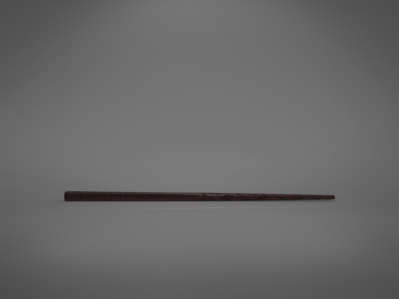 Black-front_perspective.640.jpg Download STL file Sirius Black wand - Harry Potter films 3D print model • 3D print object, 3D-mon