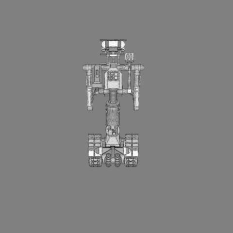 render_scene_gray_background_1300x1000.16.jpg Download STL file Johnny 5 - 3D print model • 3D printable template, 3D-mon