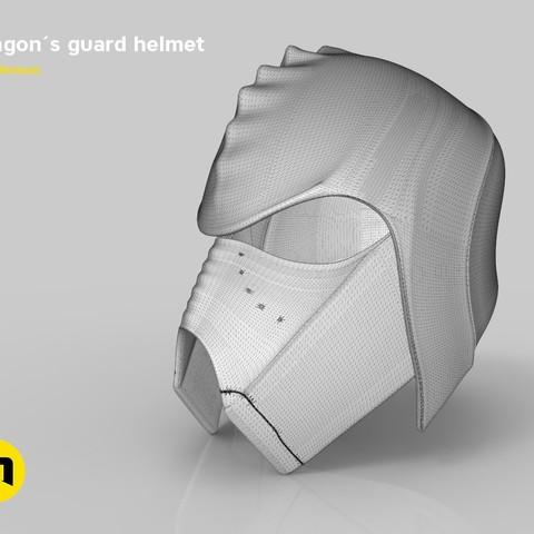 render_klingon_mesh.41.jpg Download STL file Klingon guard helmet • 3D printer object, 3D-mon