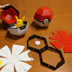 IMG_20201216_174643~2.png Download free STL file Foldable Pokeball Box Decoration • 3D printable design, 3D-mon
