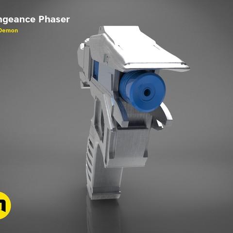 Vengeance-color.334.jpg Download OBJ file Vengeance Phaser -Star Trek • 3D printer object, 3D-mon