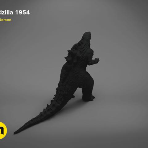 godzilla-black-japanese-isometric_parts.199.png Download free OBJ file Godzilla 1954 figure and bottle opener • 3D printer model, 3D-mon
