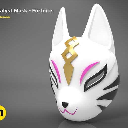 catalyst mask _ keyshot-main_render.411.png Download STL file Fortnite Catalyst Mask • 3D print model, 3D-mon