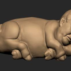 Download 3D printer model Miloushek creature, 3D-mon